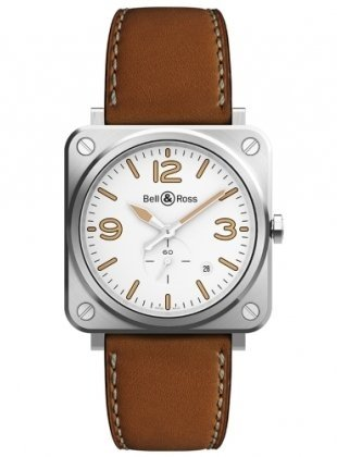 Montre BR S STEEL HERITAGE W BRS-WHERI-ST/SCA