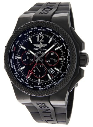Montre Breitling Bentey Midnight Carbon VB043222BD69