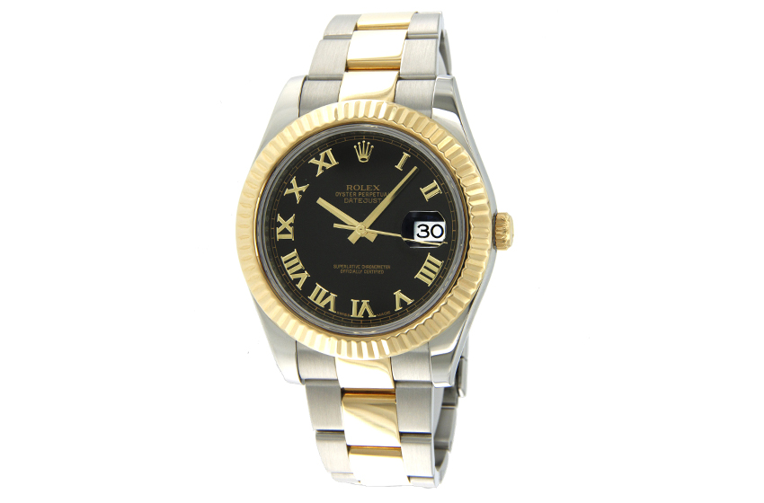 montre rolex oyster perpetual datejust 116333 d 39 occasion. Black Bedroom Furniture Sets. Home Design Ideas