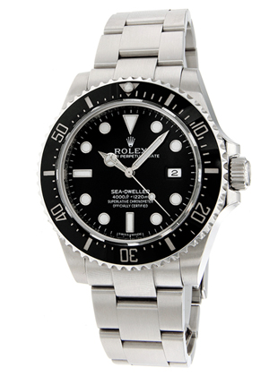 montre rolex oyster perpetual sea dweller 116600 d 39 occasion. Black Bedroom Furniture Sets. Home Design Ideas