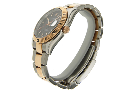 montre rolex oyster perpetual turn o graph 116261 d 39 occasion. Black Bedroom Furniture Sets. Home Design Ideas