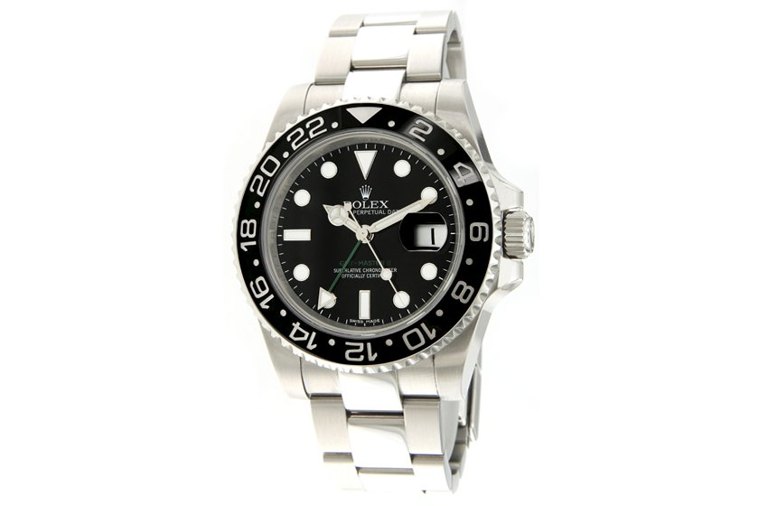 montre rolex oyster perpetual gmt master ii 116710 d 39 occasion. Black Bedroom Furniture Sets. Home Design Ideas