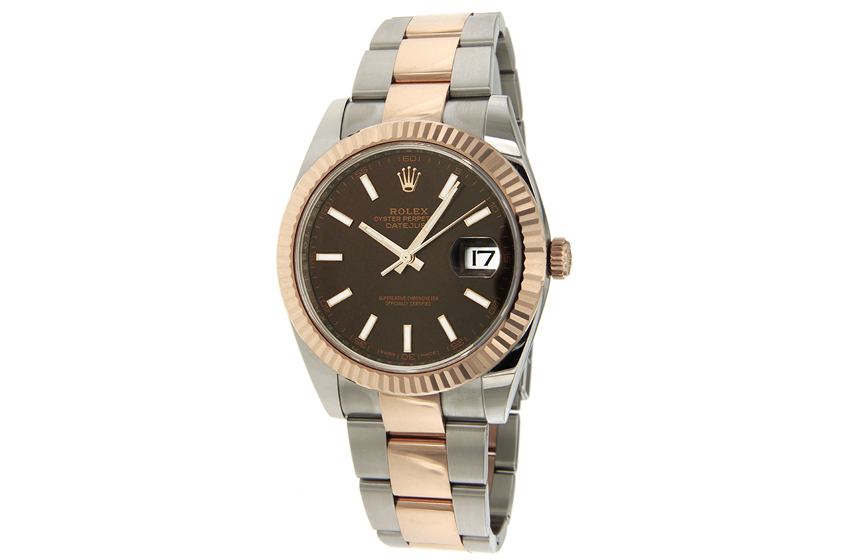 montre rolex oyster perpetual datejust 41 126331 d 39 occasion. Black Bedroom Furniture Sets. Home Design Ideas