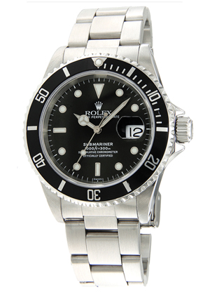 Montre Rolex Oyster Perpetual Submariner 16610